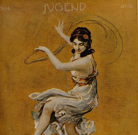 """Titelblatt """"Jugend"""" Isadora Duncan"""